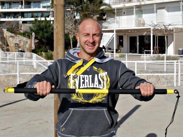 TRX Training ist ein Teil des Programms von Personal Trainer Marcel