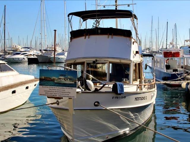 Mallorca Boot fahren auf der Nostromo I - einer Grand Banks
