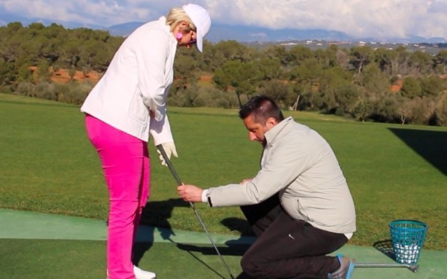 Hilfe vom Golf Pro auf Mallorca
