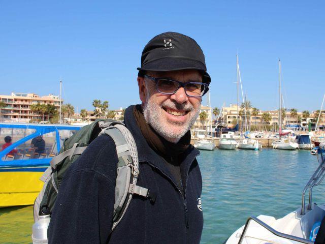Biologe und Guide Miguel McMinn