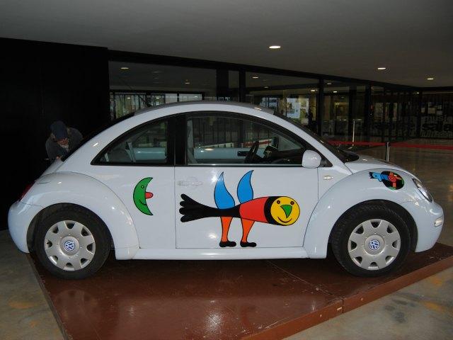 Ein von Gustavo bemalter Beetle.