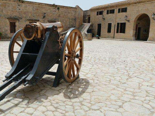 Das Militärmuseum San Carlos
