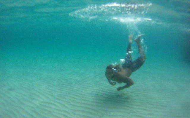 Cesar vom Buena Onda im Meer