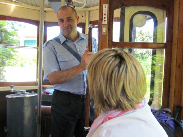 Er arbeitet in der 3. Generation für die Tram.