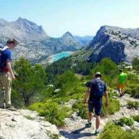 Wandern auf den Puig de L Ofre