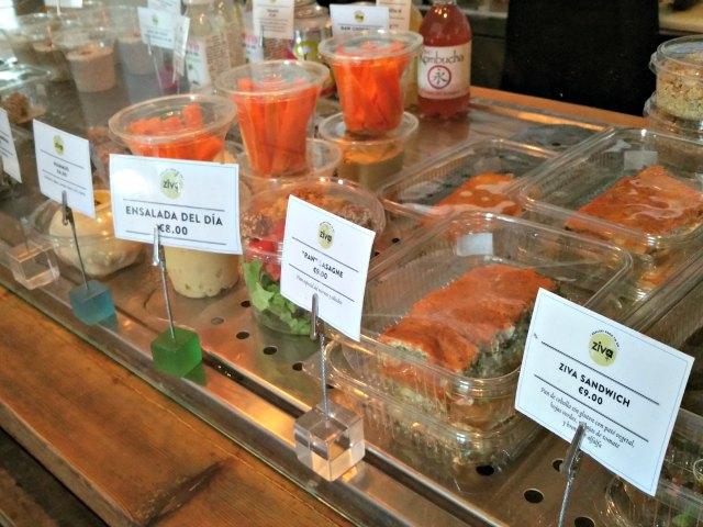 Vegan auf Mallorca - die Theke im Ziva to go
