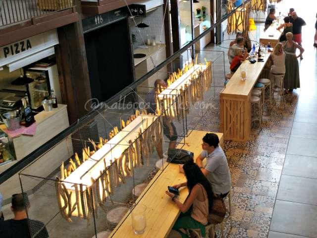 Die edle Indoor-Fressmeile von Palma de Mallorca