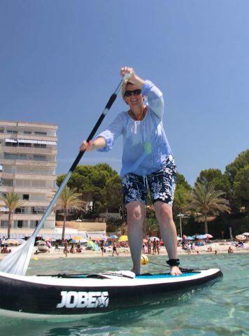 Stand Up Paddling auf Mallorca kann jeder.