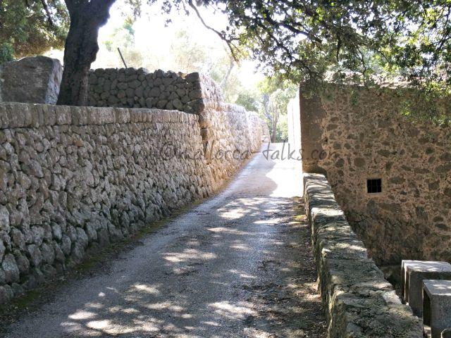 Zufahrt zur Ermita de Trinitat