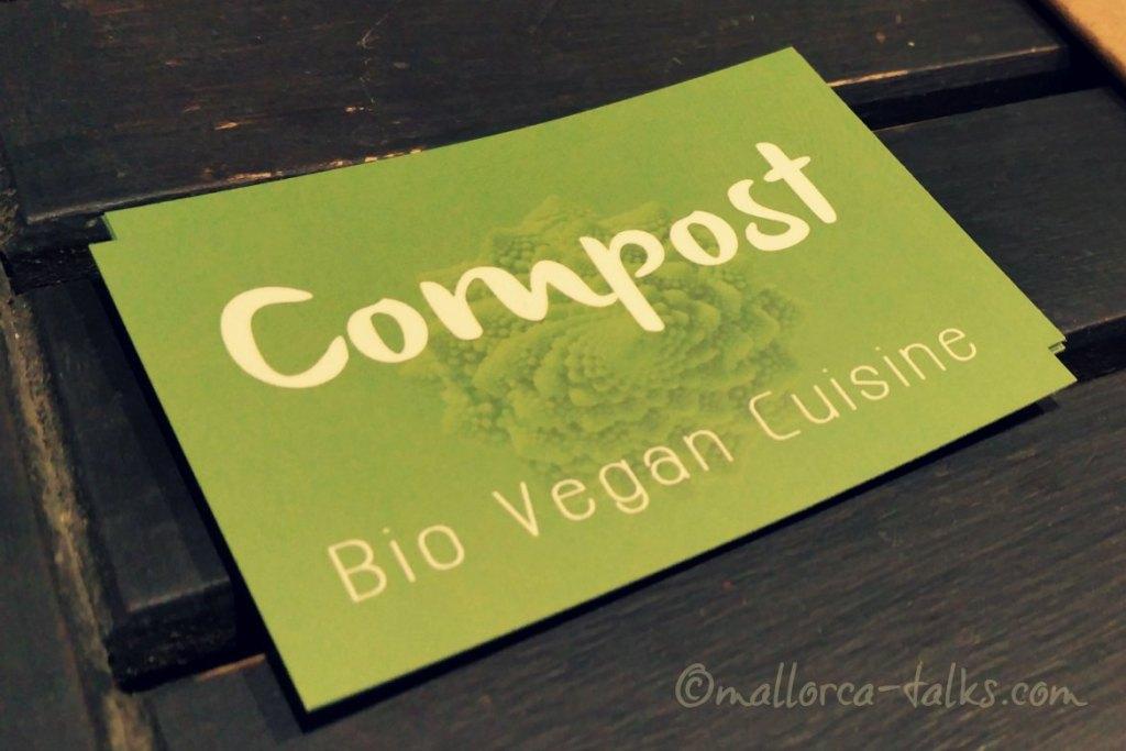 Visitenkarte Compost vegano in Palma