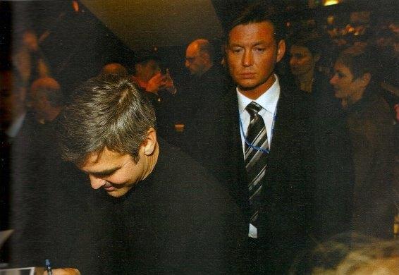 Frank Schrader Bodyguard Georg Clooney