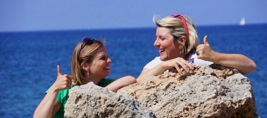 Daumen hoch für Mallorca mit ...