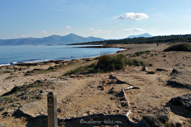 GR222 - Küstenwanderweg zur Nekropole Son Real auf Mallorca