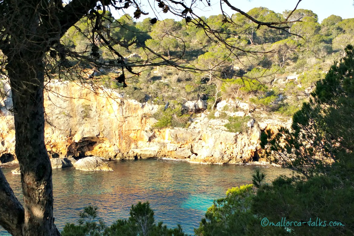 Cala Pi im Winter