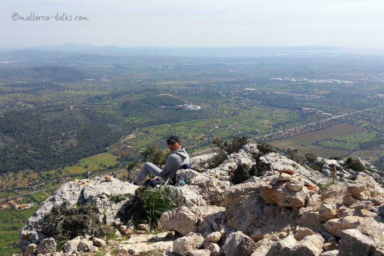 Ausblick Wandern Mallorca