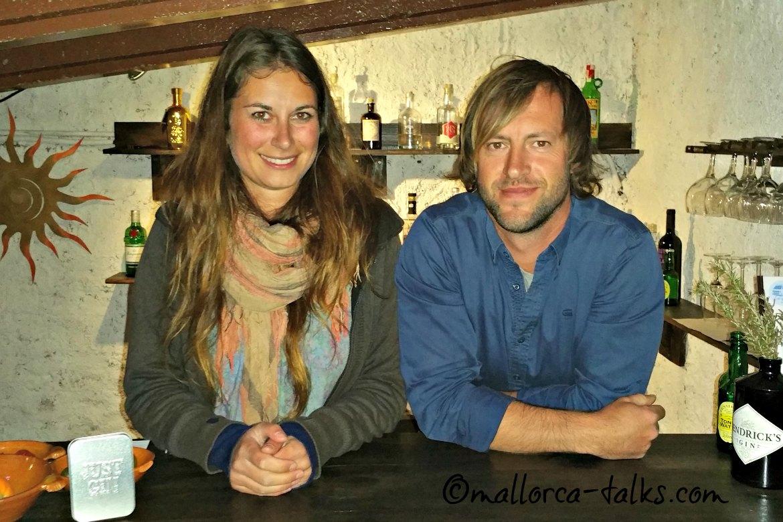 Jill und Alex von Lazy Finca Mallorca