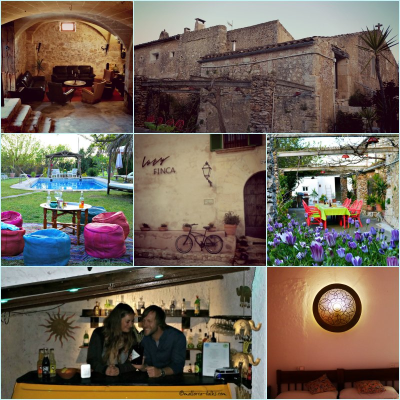 Lazy Finca Collage