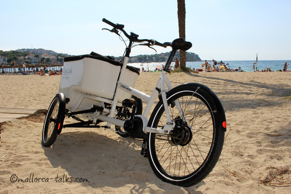 Cargobike E-Bike Yes we Bike Mallorca