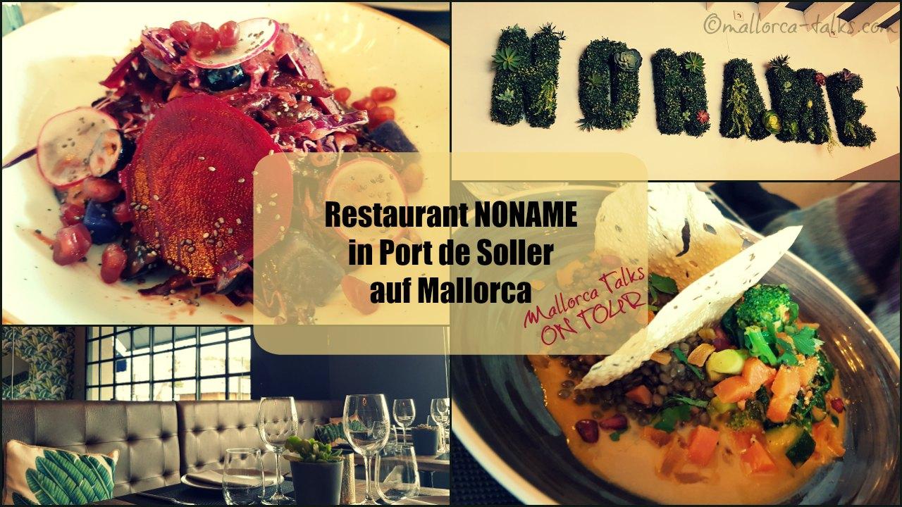 Restaurant Noname Port de Soller