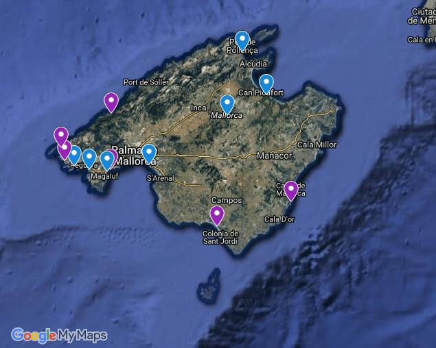 Überblick Mallorca Hundestrände