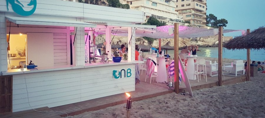 Beachbar Nixe in Cala Major