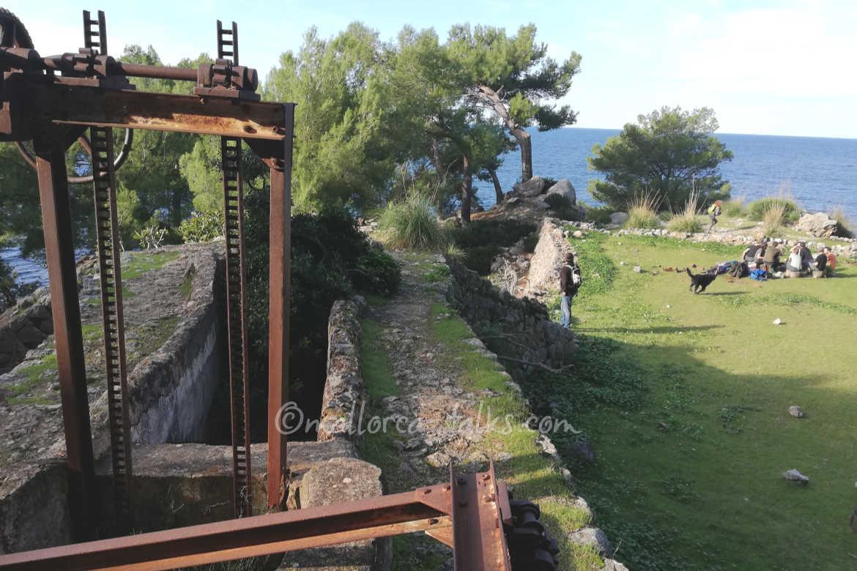 bester Picknickplatz der Insel - Wanderung von Cala Tuent