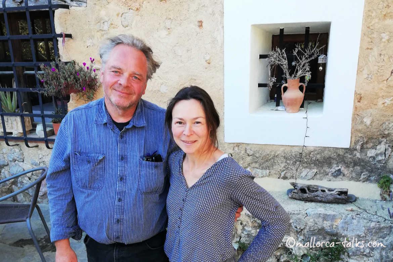 Hans und Clarissa Schödel - Gastgeber Son Roig