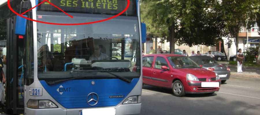 Bus fahren in Palma und Umgebung