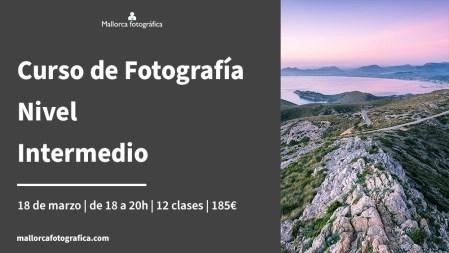 Curso de fotografía nivel intermedio en Mallorca Fotográfica