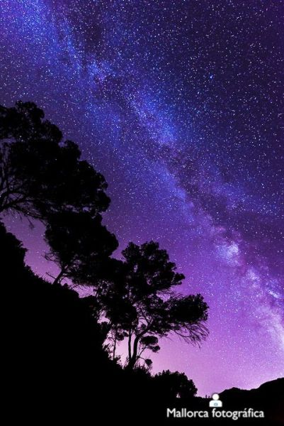 Milky Way from Mallorca