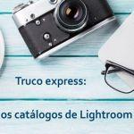 Unir catálogos de lightroom