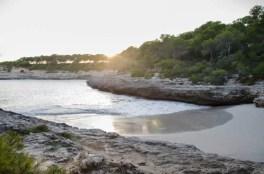 Strand im Naturpark Mondrago