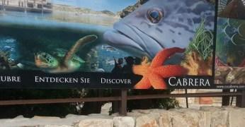 Das Besucherzentrum Cabrera / Aquarium in Colonia de Sant Jordi