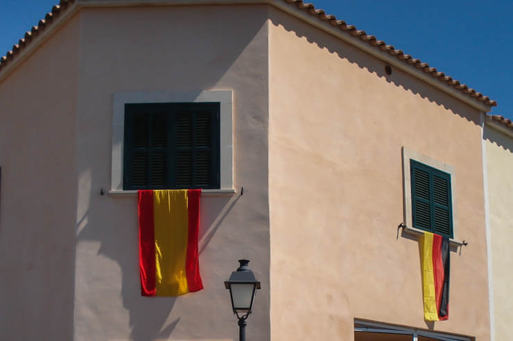 Spanischer Nationalfeiertag auf Mallorca