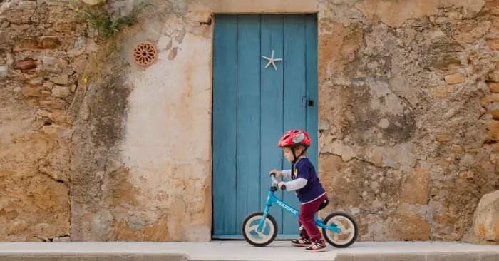 Radfahren mit Kindern: Zwischen Arta und Manacor