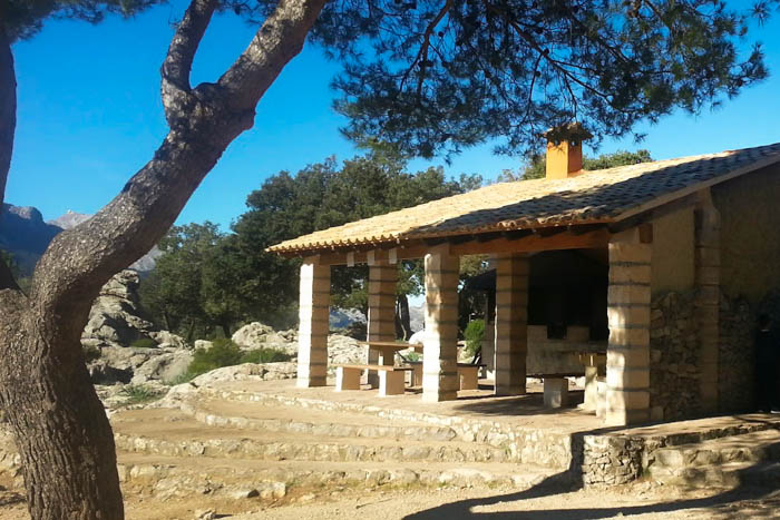 Zelten auf Mallorca zwischen Lluc und Pollença