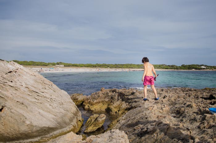 es Caragol Strand