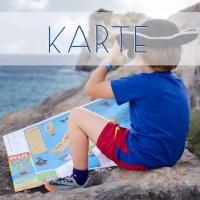 Mallorca Entdecker-Karte für Kinder