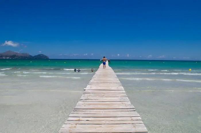 Kinderfreundlicher Strand: Playa de Muro