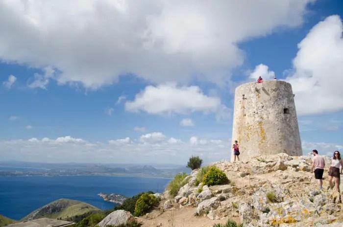 Wehrturm am Cap de Formentor