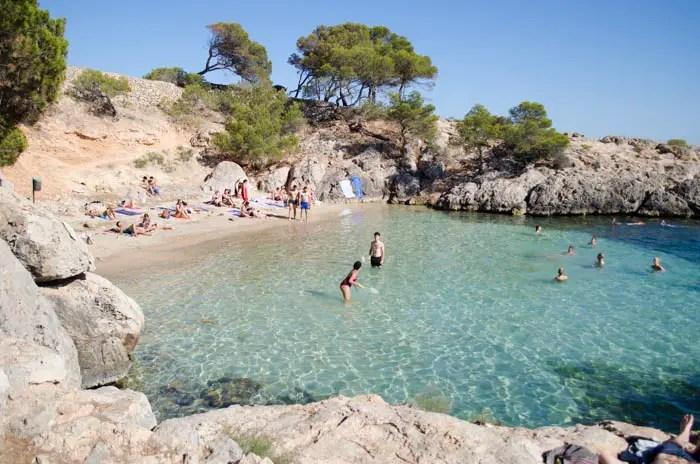 9 Strände im Westen Mallorcas: Punta Negra