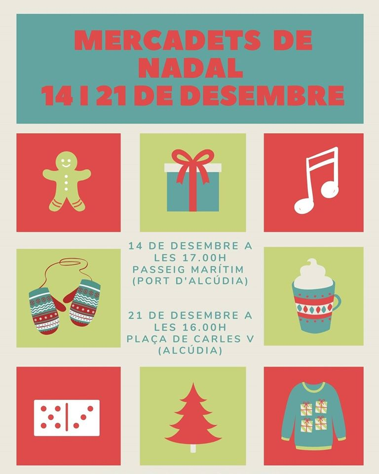 Weihnachtsmarkt in Alcudia