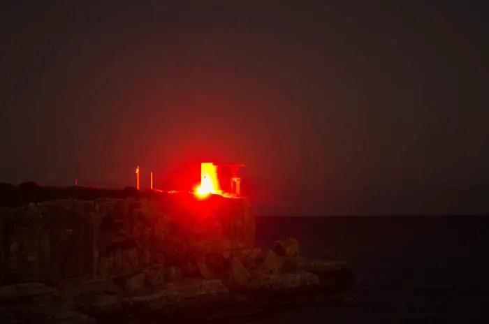 Piratenwachtürme leuchten wieder
