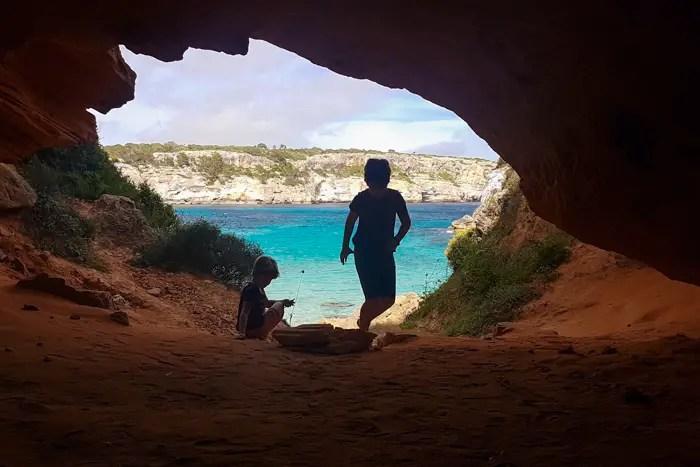 Höhle Caló des Moro7