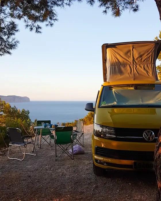 Camper Stellplätze auf Mallorca