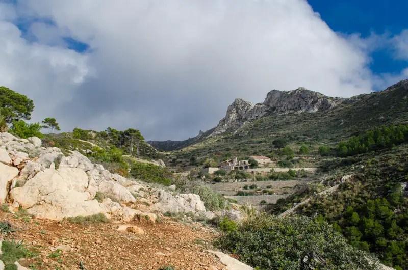 Klosterruine La Trapa bei Sant Elm