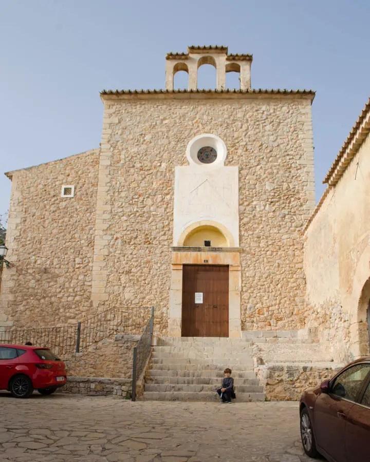 Caimari: Alte Pfarrkirche Esglèsia Vella