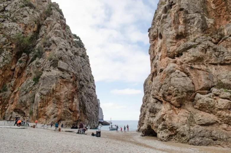 Torrent de Pareis Schlucht bei Sa Calobra