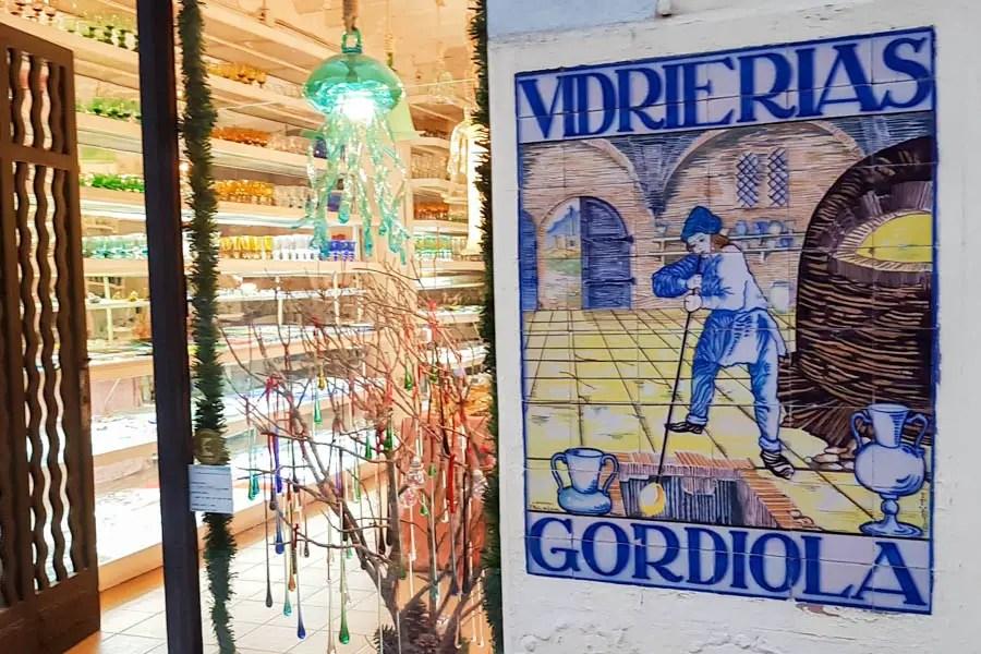 Verkaufsshop von Gordiola in Palma