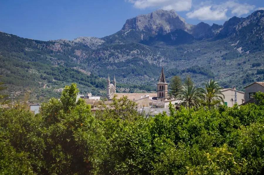 Sóller auf Mallorca: Die Stadt der Orangen